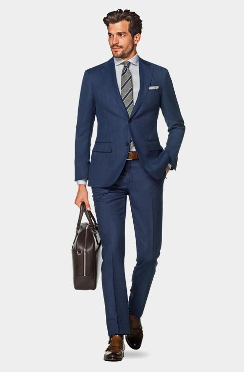 商務紳士藍色平穩
